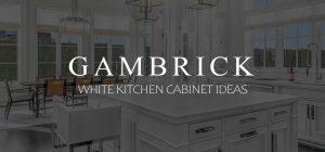 White kitchen Cabinet Ideas Banner 1