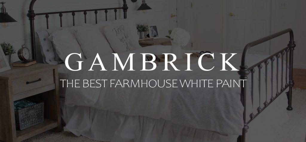 The best farmhouse white paint Banner 1