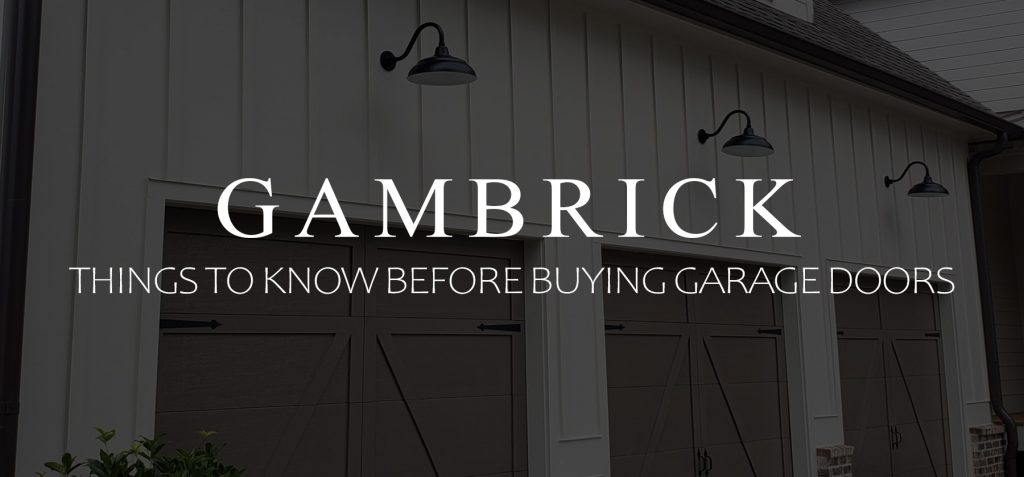 things to know before buying garage doors banner 1