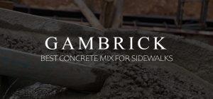 best concrete mix for sidewalks banner 1