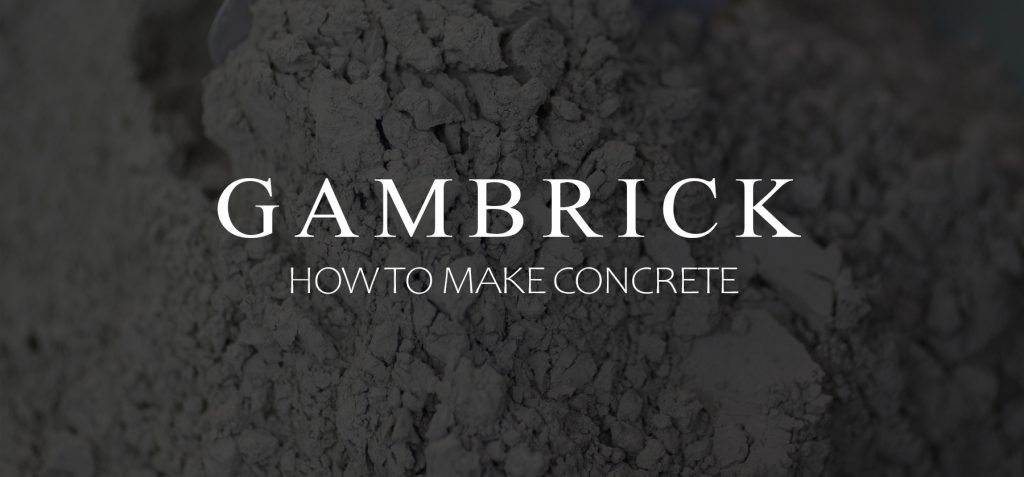 how to make concrete banner 1