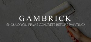 should you prime concrete before painting