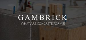 what are concrete forms