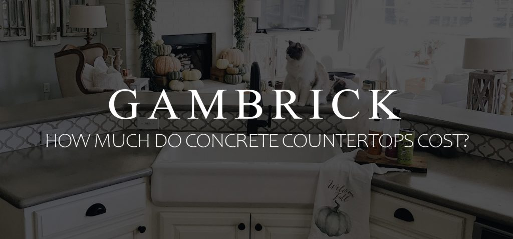 how much do concrete countertops cost banner 1