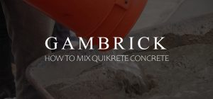 how to mix quikrete concrete banner 1