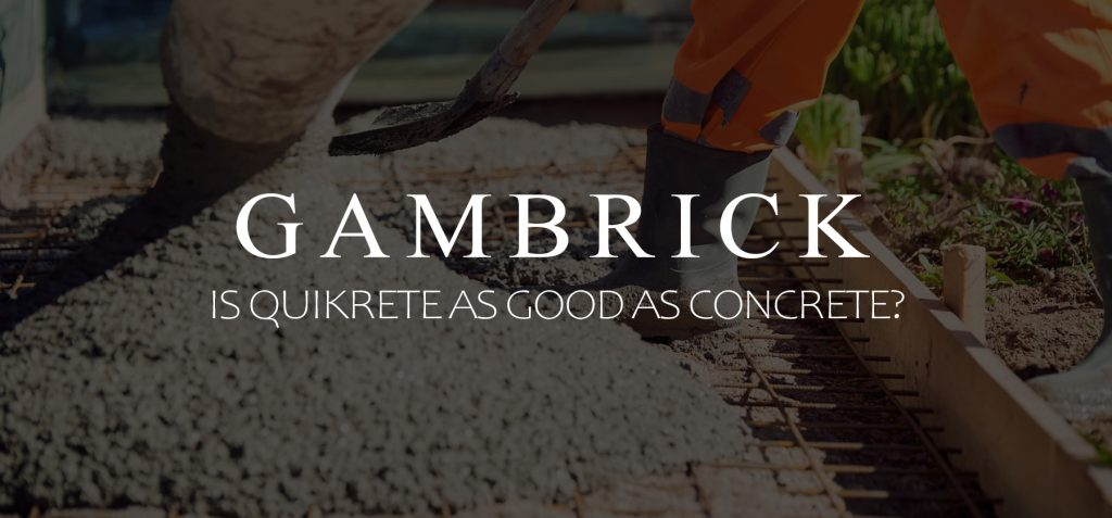 is quikrete as good as concrete banner pic