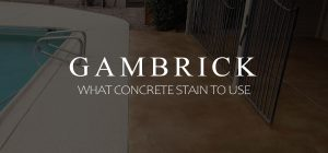 what concrete stain to use banner pic
