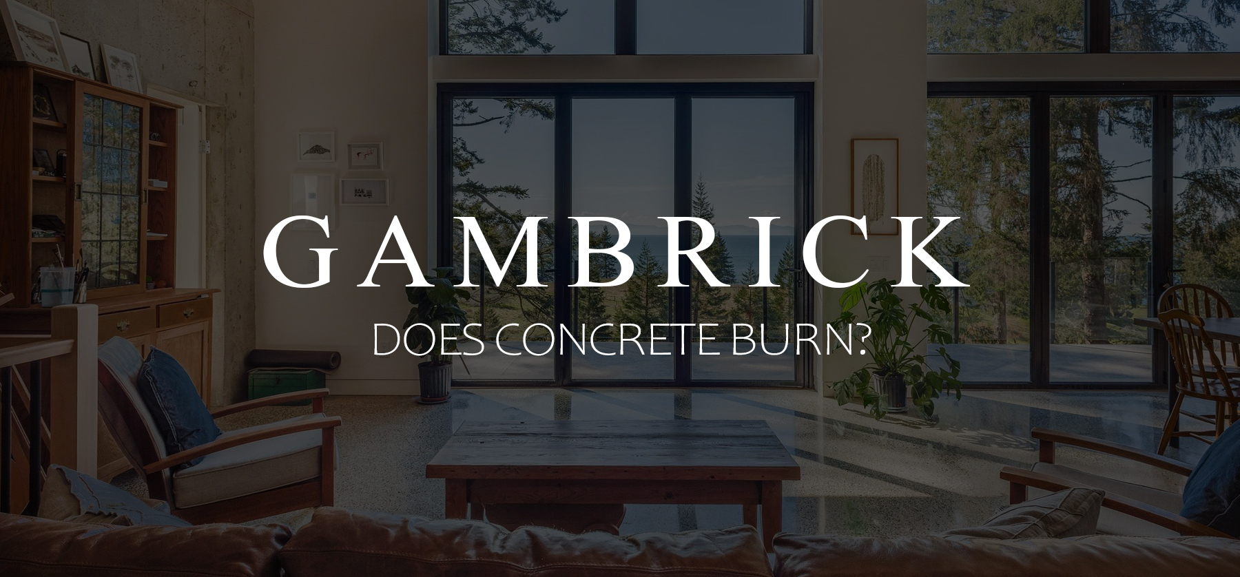 does concrete burn banner pic