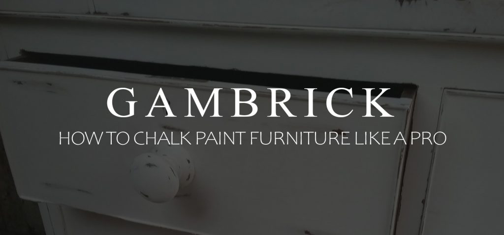 how to chalk paint furniture like a pro banner pic
