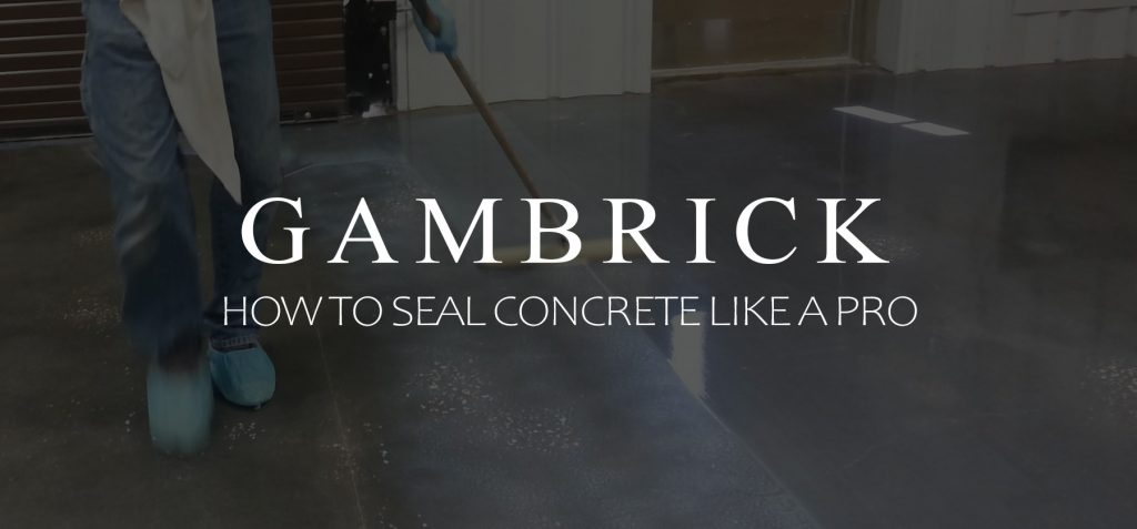 how to seal concrete like a pro banner pic