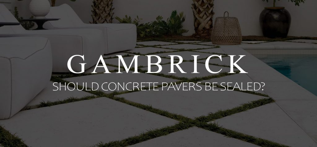 should concrete pavers be sealed banner pic