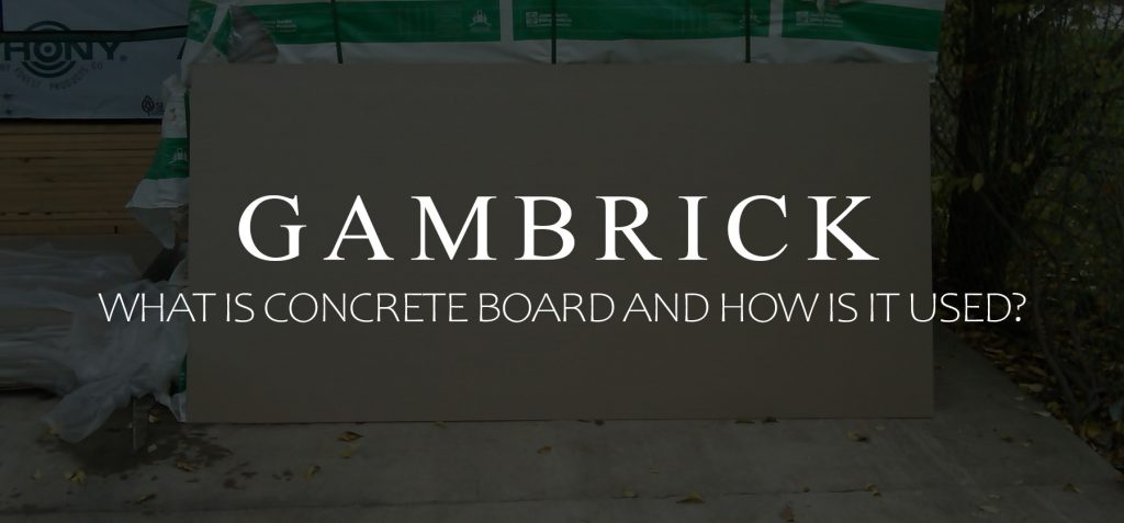what is concrete board and how is it used banner pic