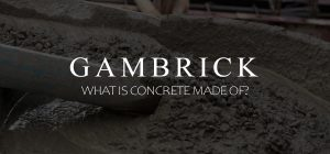 what is concrete made of banner