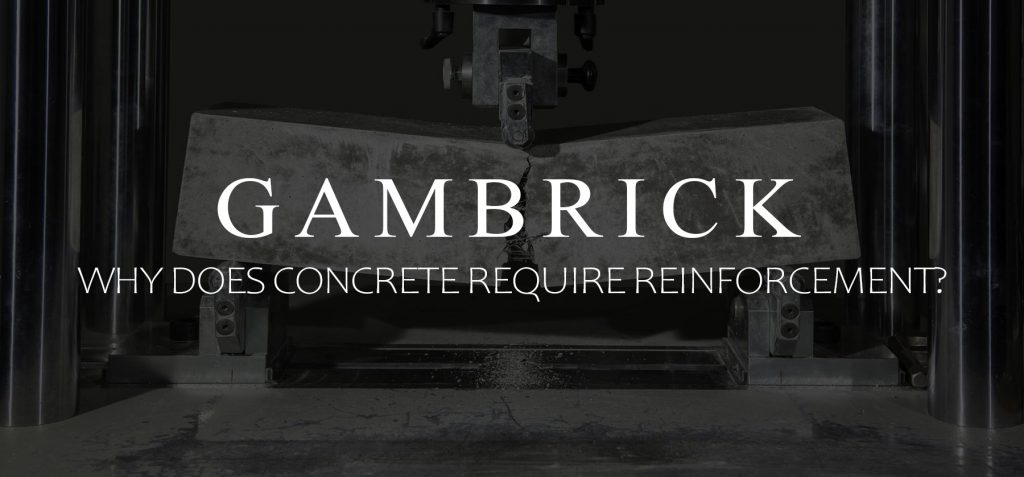 why does concrete require reinforcement banner pic