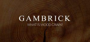 what is wood grain?