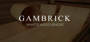 what is wood veneer?