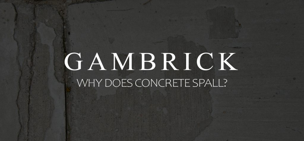 why does concrete spall?