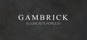 is concrete porous banner pic