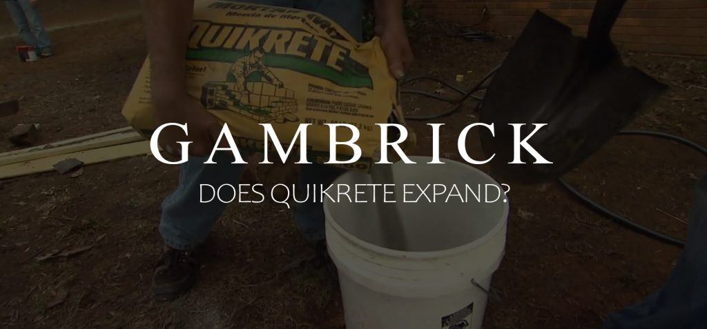 does quikrete expand banner pic