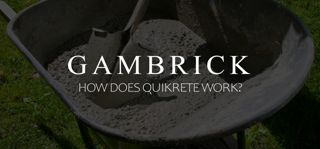 How Does Quikrete Work? Banner Pic