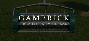 how to aerate your lawn banner pic