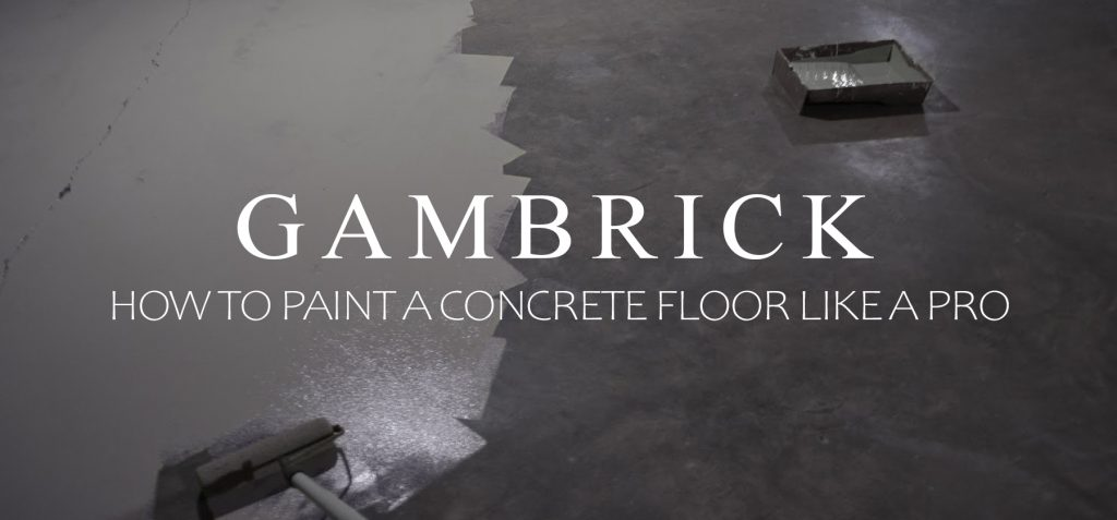 how to paint concrete floors like a pro banner pic