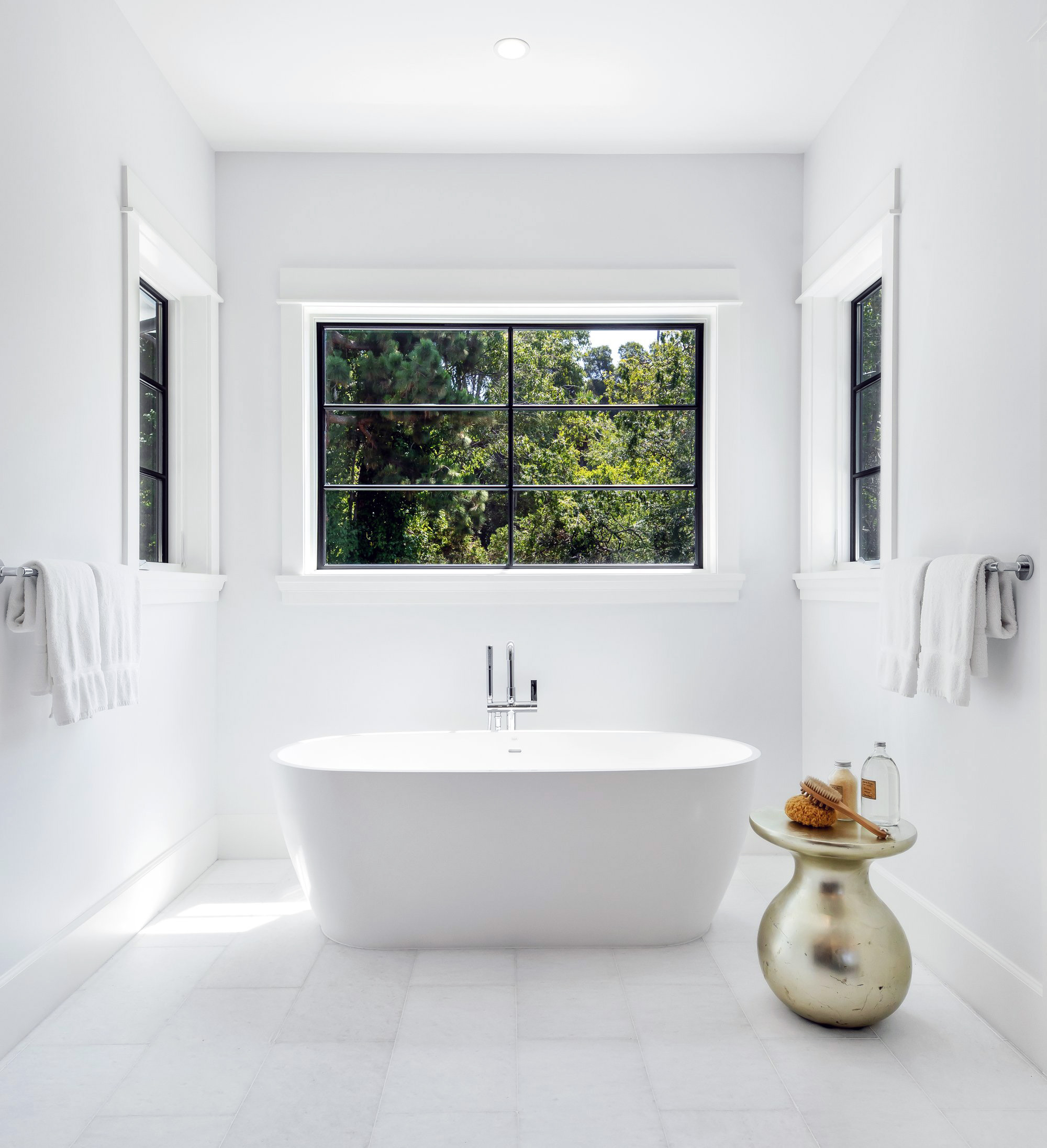 beautiful bathroom remodeled on a budget