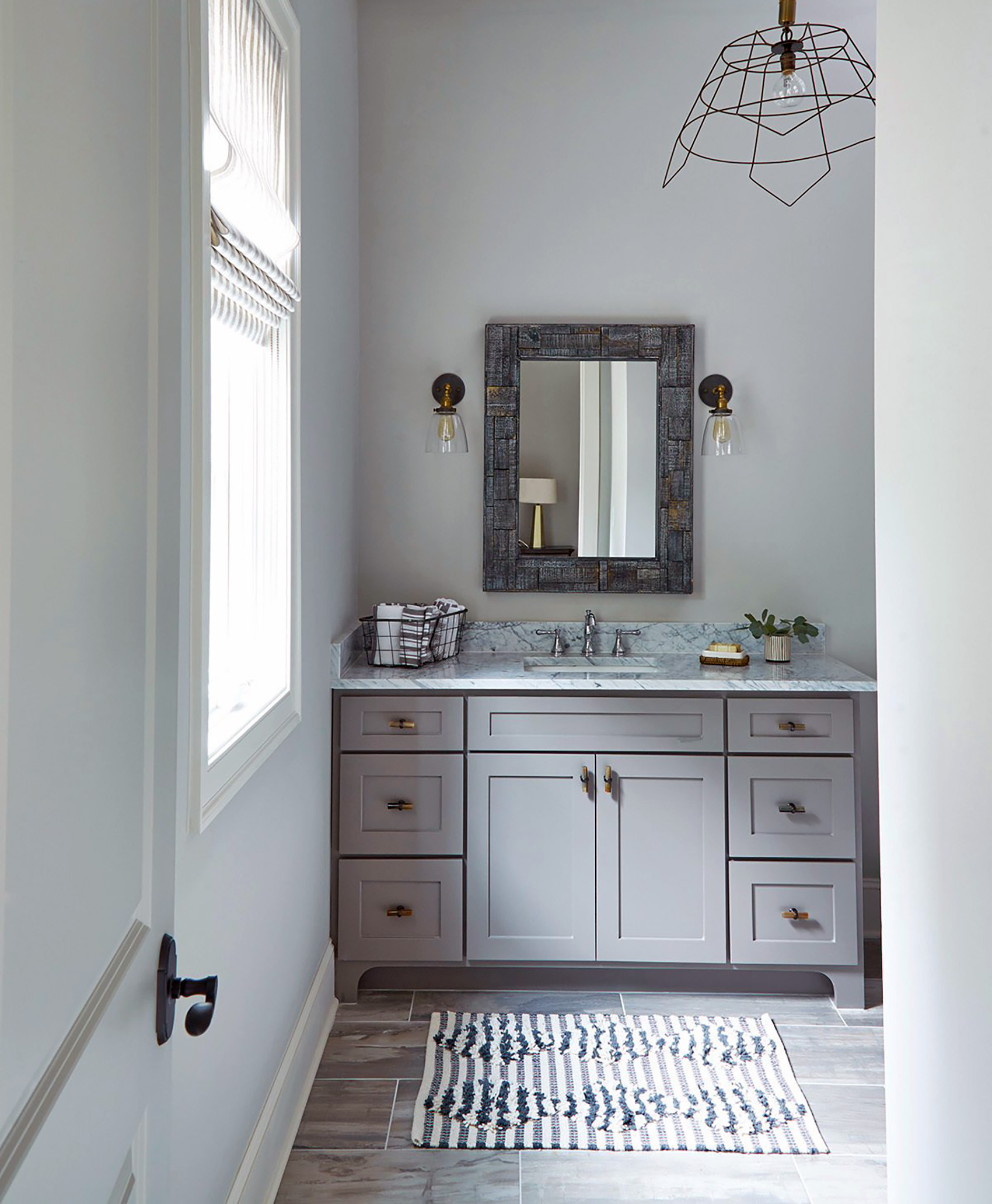save money remodeling a bathroom simple vanity with marble