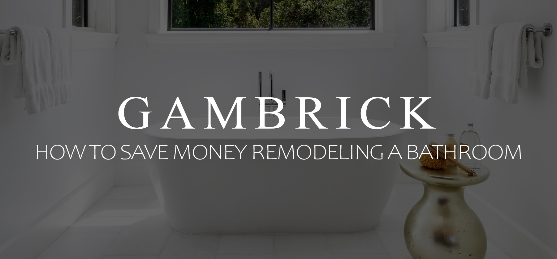 how to save money remodeling a bathroom banner pic